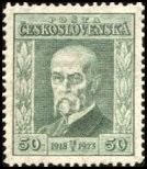 Timbre: Président T.G. Masaryk