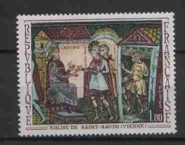 Timbre: Eglise de Saint Savin