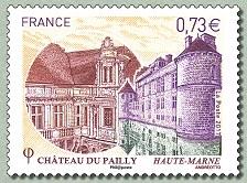 timbre: Chateau du Pailly