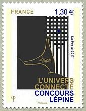 timbre: L'univers connecté - Concours Lépine