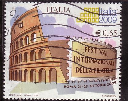 timbre: Festival international de la philatélie