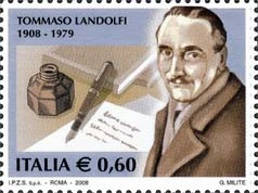 timbre: Tommaso LANDOLFI - Ecrivan