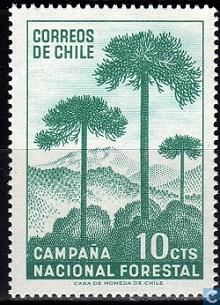 timbre: Campagne nationale pour la forêt