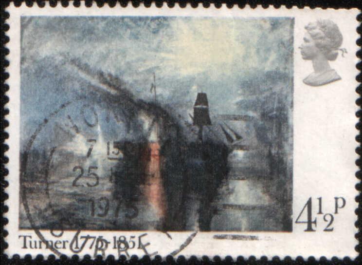 timbre: Paix, funérailles maritimes de Turner