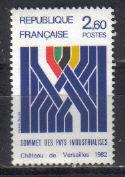 timbre: Sommet des pays industrialisés à Versailles