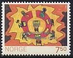 timbre: La Norvège dans 100 ans