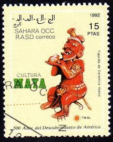 Timbre: Culture Maya
