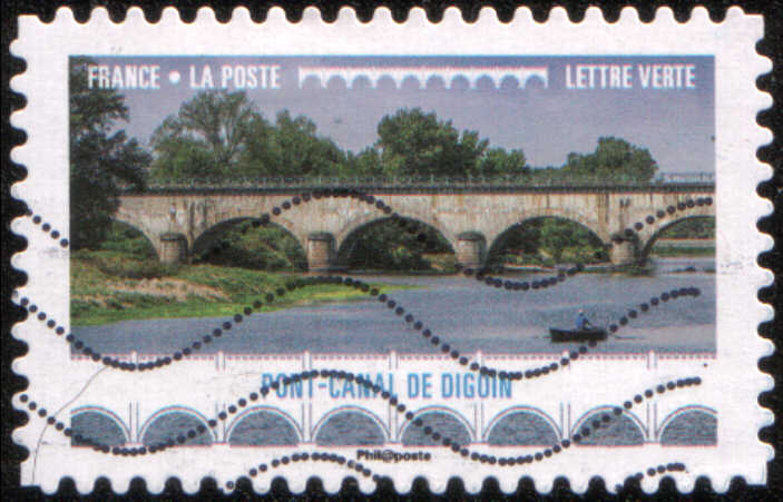 Timbre: Pont-canal de Digoin