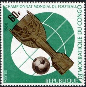 Timbre: Championnat mondial de football