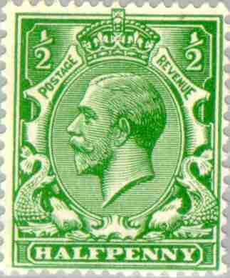 Timbre: George V