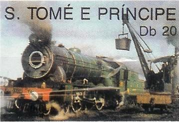 Timbre: Locomotive d'Asie