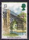 Timbre: Pont métallique sur la Severn