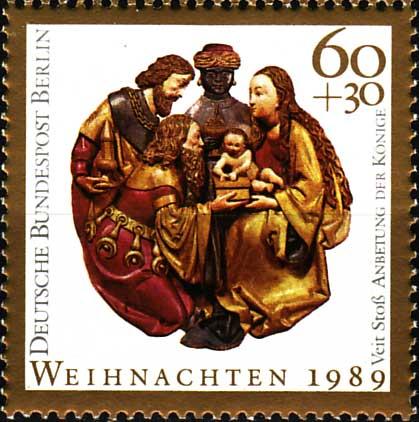 timbre: L'Adoration des Rois Mages