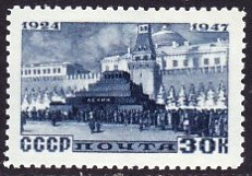 timbre: Mausolée de Lénine