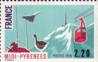 Timbre: Midi Pyrénées