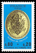 Timbre: Plaque de Facteur.
