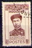Timbre: Bao-Daï, empereur d'Annam
