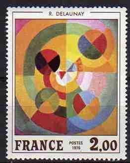 Timbre: La joie de vivre  R. Delaunay