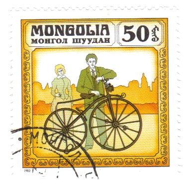 Timbre: Historique des Cycles ( Bycicle Michaux 1863)