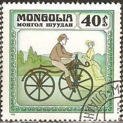 Timbre: Histoire de la Bicyclette
