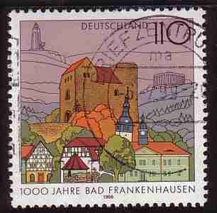 Timbre: 1000aire de Bad Frankenhausen