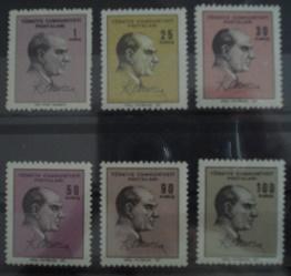 Timbre: (0682) ATATURK (2 series completes 1965-66)