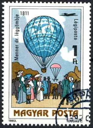 Timbre: Montgolfière - 1811