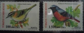 Timbre: (0697) Oiseaux (2 valeurs)