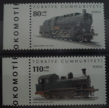 Timbre: (0698) Trains (serie complete)