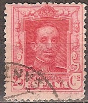 Timbre: Roi Alphonse XIII       (3)