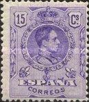 Timbre: Roi Alphonse XIII      (1)