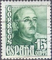 Timbre: Général Francisco Franco     (1)