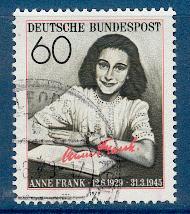Timbre: Anne Franck.