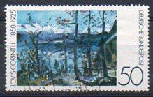 Timbre: Pâques au lac Walchen par Lovis Corinth