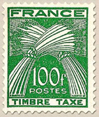 Timbre: Type gerbe  NOTE