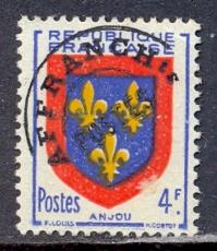 Timbre: Anjou.