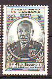 Timbre: Océanie - Gouverneur-général Eboué
