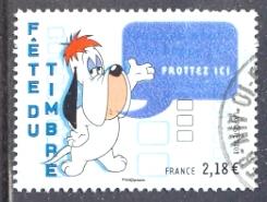 Timbre: Fête du timbre : Droopy (grand format)