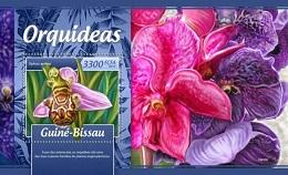 Timbre: Les orchidées