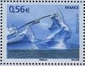 Timbre: Protection des Pôles - Paysage polaire