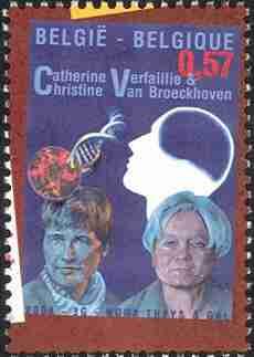 Timbre: Sc 1998g - C. Verfaillie et C. Van Broeckhoven