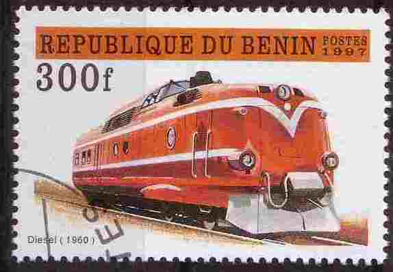 Timbre: Train Diesel 1960