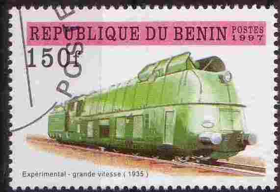 Timbre: Expérimental Grande vitesse1935