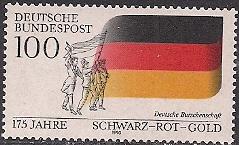 Timbre: 175 ans Association des étudiamts allemands