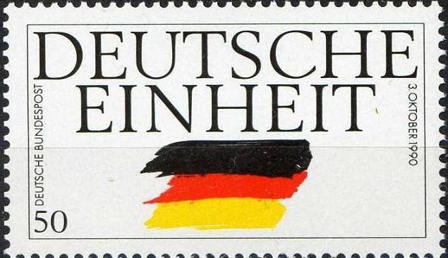 Timbre: Réunification allemande