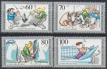 Timbre: Scènes de Max et Moritz - série complète -