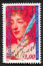 Timbre: Madame de Sévigné