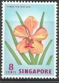 timbre: Vanda - fleur