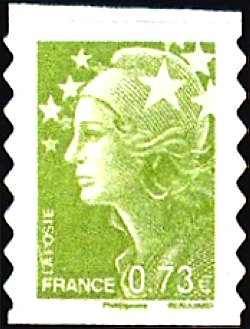 Timbre: AA0286 (Cachet rond)