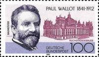 Timbre: Paul Wallot, architecte